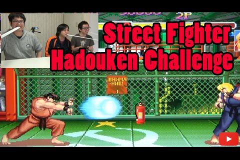 Street Fighter Hadouken Challenge