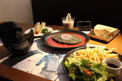 Tokyo Ghoul Cafe, an enjoyable gruesome experience