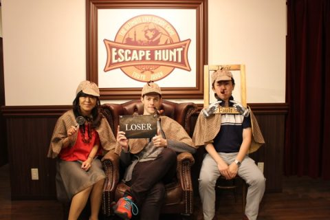 Escape Hunt let's you have fun while using your head